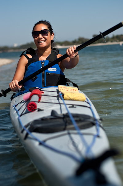 Kayaking at MBAC