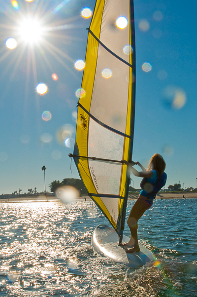 Windsurfing at MBAC