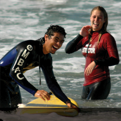 Surfing at MBAC