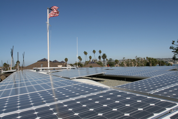 MBAC's 40Kw solar array