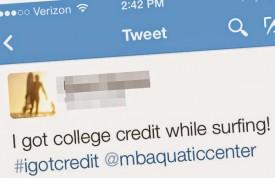 Tweet College Credit