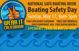 Safe boating Day is May 17.