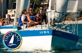 First Sail at MBAC