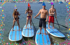 Enjoy a free SUP rental on us on your birthday!