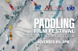 Paddling Film Festival World Tour November 8th