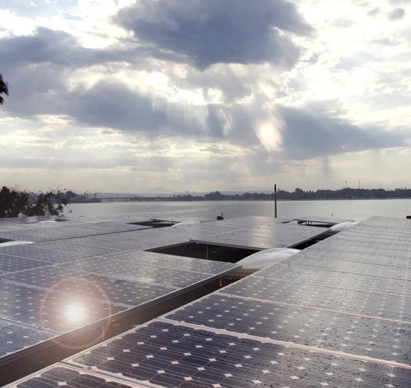MBAC solar array south portion.