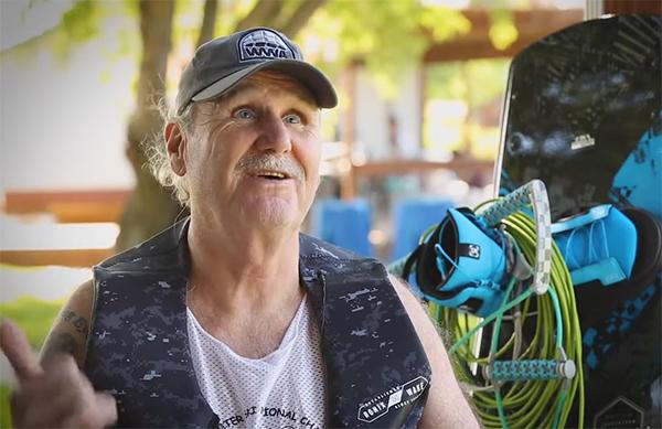 Blind Wakeboarder Scott Leason