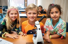Exploring plankton with microscopes