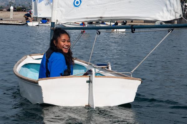 Basic Sailing in a sabot