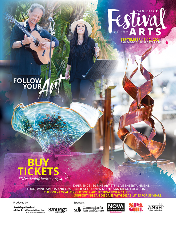 Purchase Tickets at sdfestivalofthearts.org