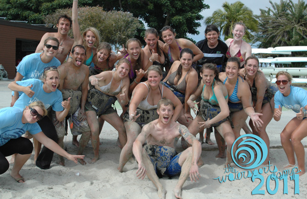 The new 2011 Camp Staff