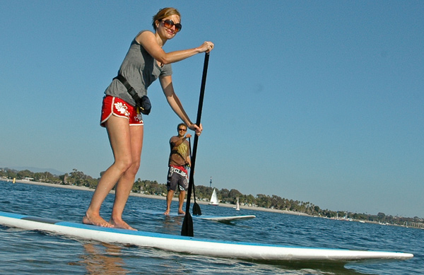 Stand up paddle renters