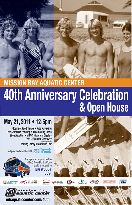 40th Anniversary Celebration and Open House Poster
